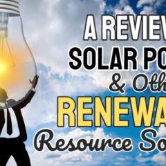 "Featured image for the article ""A ""Review of Solar Power and Other Renewable Resource Sources""."