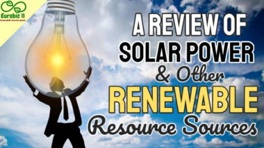 """Featured image for the article """"A """"Review of Solar Power and Other Renewable Resource Sources""""."""