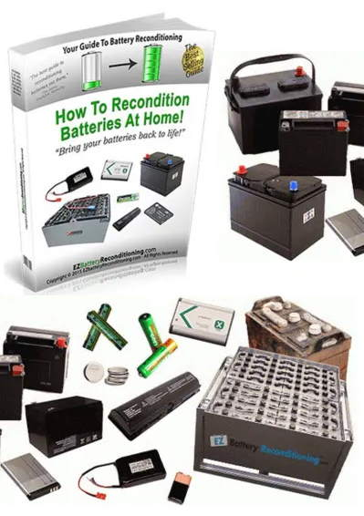 Image shows a battery reconditioning guide, but will it really save you money?