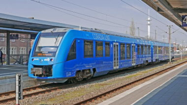 Hydrogen powered train illustrates the start of hydrogen in transport.